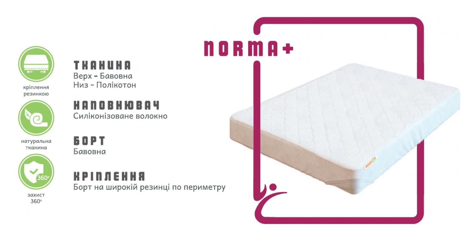 Наматрасник NORMA+